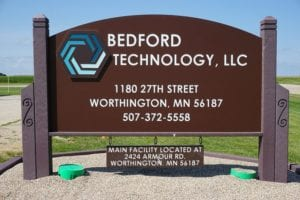 Bedford Technology Sign