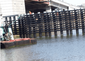 SeaTimber® by Bedford Technology at South Park Bridge