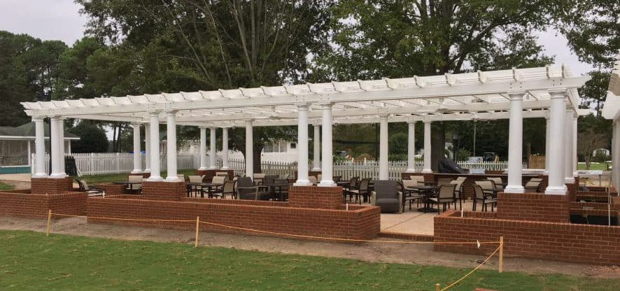 Indian Creek Yacht & Country Club Pergola FiberForce® by Bedford Technology