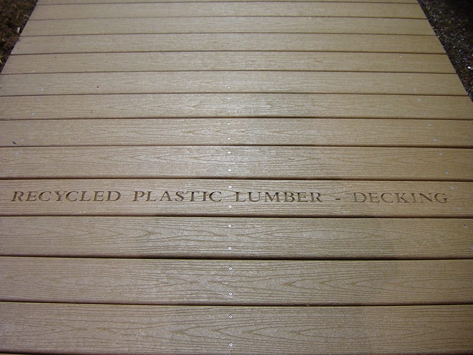 Structural 2 bedford technology for Recycled plastic decking