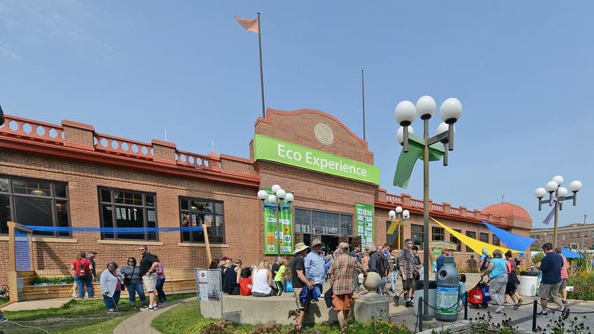 eco experience entrance at the Minnesota State Fair