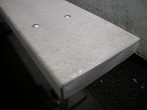Hockey Rink Bench