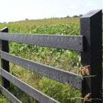 bedford technology plastic lumber fencing