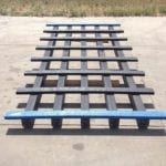 sheet cribbing made with recycled plastic lumber