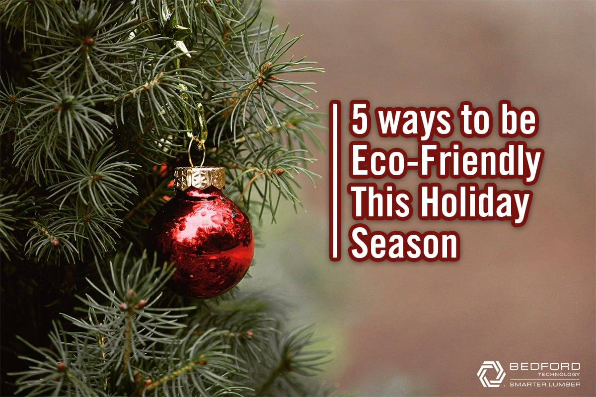 how to be eco-friendly on Christmas