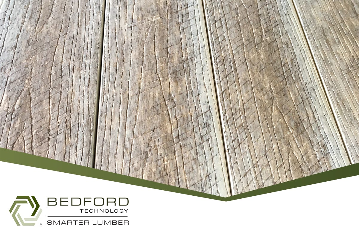 New Select Barnwood Furniture Grade Recycled Plastic Lumber by Bedford Technology