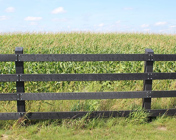 SmarterFence HDPE structural Fence